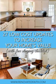 27 Tips for Selling Your House Fast in 2019 (Home Staging Checklist PDF) HOW I SOLD MY HOUSE IN 1 DAY - Check out my budget-friendly tips for selling your house fast including my staging checklist PDF printable so you are ready for home showings! Sell Your House Fast, Selling Your House, Sell House Quickly, Renting Out Your House, Home Staging Tips, House Staging Ideas, Home Tips, House Ideas, Home Buying Process
