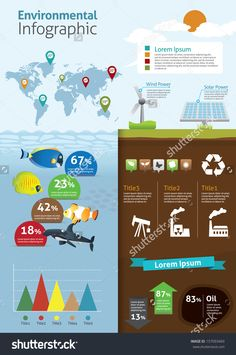 Infographic Of Ecology And Green House, Concept Design Stock Vector Illustration 157093469 : Shutterstock