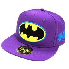 Amazon.com: Batman Logo Snapback - Purple: Clothing