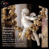 Wolfgang Amadeus Mozart: Sonatas; Rondo in D major; Adagio in B minor [CD]