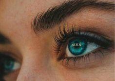 Beautiful Eyes Color, Pretty Eyes, Cool Eyes, Aesthetic Eyes, Blue Aesthetic, Beauty Makeup, Eye Makeup, Makeup Style, Regard Intense