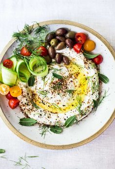 Make all your Mezze dreams come true with this easy Labneh Recipe! Homemade Labneh can be made very simply, with very little fuss. A creamy Middle Eastern Yogurt Dip or cheese Pesto, Homemade Pita Bread, Dips, Full Fat Yogurt, Everything Bagel, Tapenade, Roasted Garlic, Appetizers For Party, Whole Food Recipes