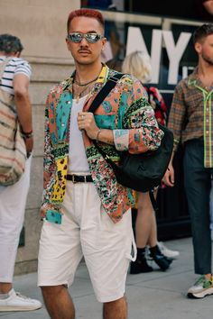 The Best Street Style at New York Fashion Week: Men's