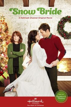 Snow Bride With Katrina Law, Jordan Belfi, Patricia Richardson, Susie Abromeit. Greta Kaine (Katrina Law) is always in search of juicy gossip. As a tabloid reporter of gossip in Los Angeles, it's her job to expose the rich and famous. Hallmark Channel, Películas Hallmark, Films Hallmark, Hallmark Holiday Movies, Xmas Movies, Hallmark Holidays, Family Movies, Great Movies, Girly Movies