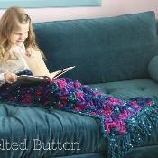 Mermaid Me Blanket - via @Craftsy