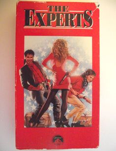The Experts VHS Rare Out of Print Not on Dvd 1989 John Travolta Kelly Preston Comedy NTSC Rated PG-13 Former Rental Video Movie Film #gf by AdriennesAtticStore on Etsy