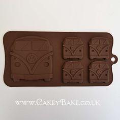 VW bus chocolate mold