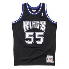 1d542d525f94 Sacramento Kings 1998 99 Black Retro 100% Authentic Jersey Personalized  Name and Number