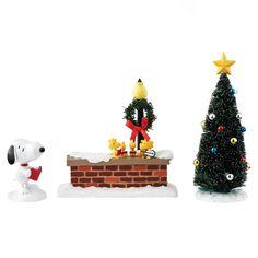 Department 56 Peanuts Snoopy & Woodstock Set Figurine 5.5
