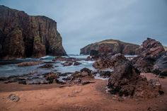 Hams of Roe Shetland - Almost got blown away while taking this photo [oc] - [5915x3949]