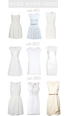 Dooley Noted Style: The Little White Dress