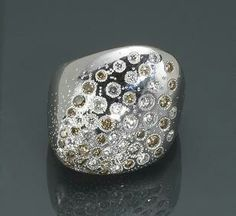 Organic ring: sold by Bonhams New York in June 2010 for $2,400