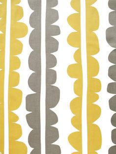 Great fabric for boys room.  Lotta Jansdotter Choma Golden Rod Fabric