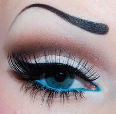 Eyes makeup photo | Woman Hair and Beauty pics