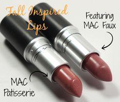 My go-to fall lipsticks! #MAC #lipstick