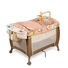 Carter's Comfort 'N Care Playard & Changer - Wild Life