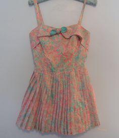 Floral corset romper Gabar New York designer by FashionBone, $56.00