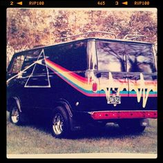 pink floyd van  What my dad played on road trips. + Neil Young.