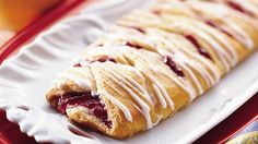 Looks like it came from a bakery! It goes together in just 15 minutes, thanks to refrigerated crescent rolls.