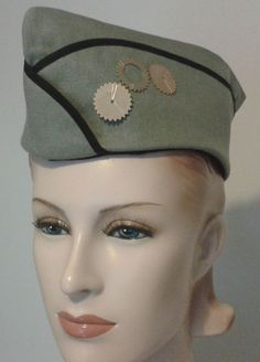Steampunk Military Hat Steam Punk Hat with Gears by MGDclothing, $22.95