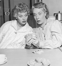 Lucy and Ethel. I just love love love this part