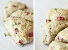 The Little Red Chair: Strawberry Basil Scones
