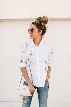 This breezy top will make the perfect addition to your springtime closet.