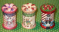 G45's Nutcracker Sweet Christmas paper - altered thread spools