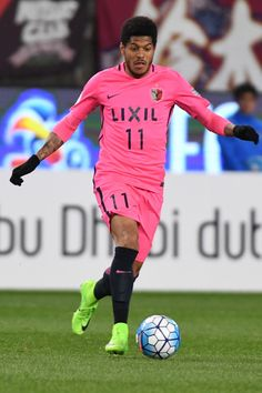 Weverson Leandro Moura of Kashima Antlers in action during the AFC Champions League Group E match between Kashima Antlers and Ulsan Hyndai at Kashima Soccer Stadium on February 21, 2017 in Kashima, Ibaraki, Japan.