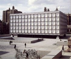 Beinecke Rare Book and Manuscript Library, Yale University; 1963 by Gordon Bunshaft