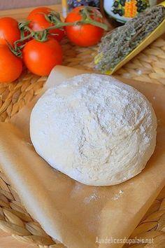 Recette pâte à pizza express (sans repos) A faire absolument