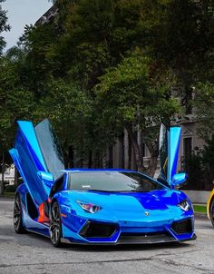 The Lamborghini Aventador is truly an incredible car. With a top speed of over and its striking styling it is impossible not to be noticed when driving. Lamborghini Aventador, Ferrari 458, Luxury Sports Cars, Maserati, Porsche Carrera, Porsche 911, Automobile, Mustang, Aston Martin