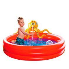 Planschbecken Krake mit Sprühfunktion - jetzt günstig bei Weltbild bestellen #kinder #spielen #spaß #baden #sommer #weltbild