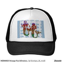 MERMAID Strange Fun Adventure Nature Sea Life GIFT Trucker Hat