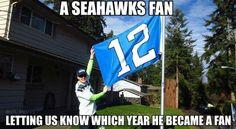 Oh, Seahawks fans.