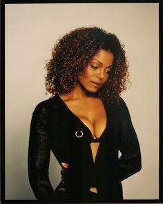 Janet Jackson (The Velvet Rope) Michael Jackson, Janet Jackson 90s, Jo Jackson, Paris Jackson, Jackson Family, Janet Jackson Velvet Rope, Afro, Lisa Marie Presley, Divas