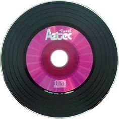 CD-r virgem vinil rosa
