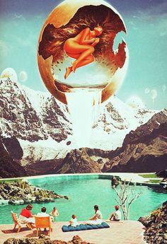 Collage Art By Ayham Jabr. Instagram-Facebook
