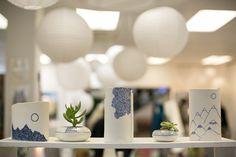 landscape ceramics blue & white