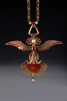 Art Nouveau Jewelry By Phillipe Wolfers (1858-1929) <3