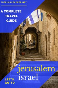 Top Things to Do in Jerusalem: Must-See Sights for the First-time Visitor Thinking of visiting Jerusalem? Discover the very best things to do during your first visit! Middle East Destinations, Amazing Destinations, Travel Advice, Travel Guides, Travel Tips, Where Is Bora Bora, Visit Israel, Israel Travel, Jerusalem Israel