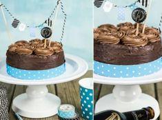 Chcete splnit sen čokoholikovi? Upečte mu čokoládový dort! A čokoládou rozhodně nešetřete, ten nejlepší dort má totiž z čokolády korpus, krém i zdobení :) Cake, Kuchen, Torte, Cookies, Cheeseburger Paradise Pie, Tart, Pastries