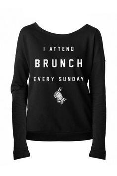 Brunch Long Sleeve T-Shirt