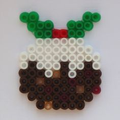All of me: Craft me Happy!: Hama Bead Christmas Puddings