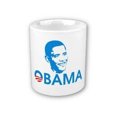 Obama The Hero Coffee Mugs