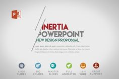 Inertia | Powerpoint Template by Zacomic Studios on @creativework247