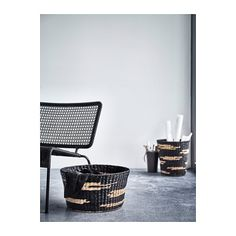 IKEA - VIKTIGT, Basket, Perfect for everything from newspapers to clothes and toys.Handmade by a skilled craftsman. Ikea Design, Shopping Ikea, Shopping Spree, Ikea Storage Baskets, Tall Basket, Decor Styles, Home Accessories, Sweet Home, Living Room