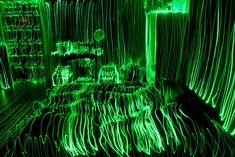 Topographical light painting