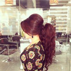 Kurdish hairstyle Pinterest: @kvrdistan