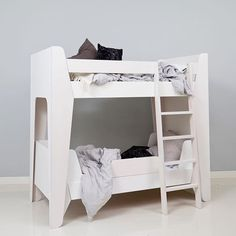 LumoKids Bunk Bed - you can easily detach the two beds and rearrange them! Designed and made in Finland